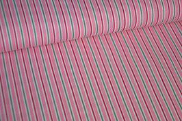 Jersey Streifen, pink