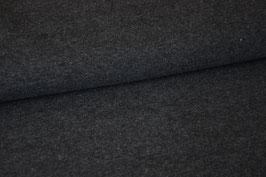 Kuschelsweat dunkelgrau meliert