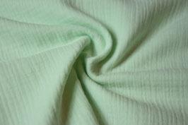 Musselin Uni helles mintgrün