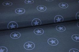 Softshell Sterne im Kreis dunkelblau
