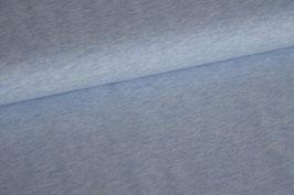 Jersey Melange uni hellblau