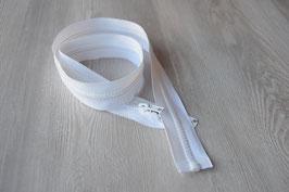 Reißverschluss teilbar, 80cm, weiß