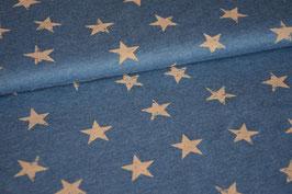 Sweat Destroyed Stars blue/beige