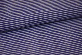 Baumwolle Streifen blau
