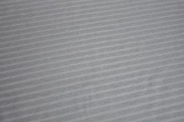 Jersey Melange Streifen groß helles mint