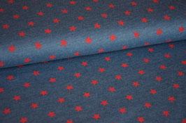 Sweat Mini Stars blue/red