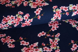 Bio Soft Sweat Cherry Blossom, dunkelblau