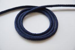 Baumwollkordel dunkelblau, 5mm