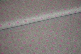 Sweat Mini Stars grey/pink