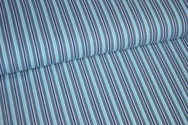 Jersey Streifen, blau