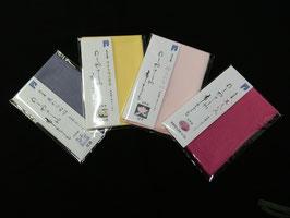自然染ハンカチ 抗菌防臭素材で作られています。 生産者直売価格