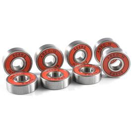 Kanzen ABEC-11 608 pack ACIER RED