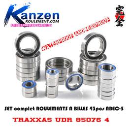 Set TRAXXAS LATRAX TETON 4WD 1/18 76054-5 Série ACIER ABEC-5