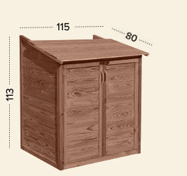 Massivholz Filterbox
