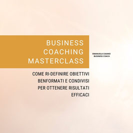 BUSINESS COACHING MASTERCLASS