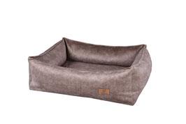 Box Bett Wechselüberzug | Plüsch Sand Überzug / Cover