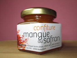 130g confiture mangue-safran