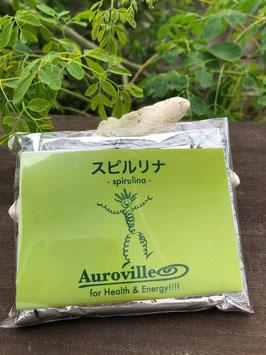 南インド産 オーロヴィルのスピルリナパウダー Spirulina Powder 100g