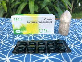 ロシアの白樺の活性炭タブレット White Birch Chacoarl