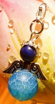 Schutzengel blauer Achat Lapislazuli