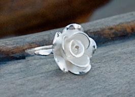 Ring Weiße Rose