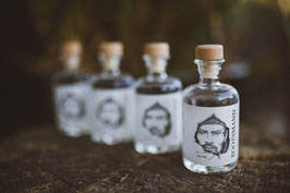 4 x BOOTSMANN DRY GIN 41% 4cl