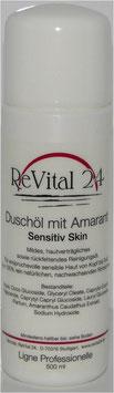 Duschöl mit Amarant Sensitiv Skin mit Rosenduft