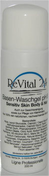 Basen-Waschgel pH 8,5 Sensitiv Skin Body + Hair