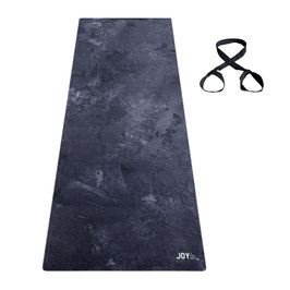 FLOW LONG Yogamatte Solid Sky extra lang