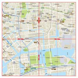 半径2km近隣地図