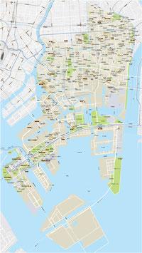 市町村単位の地図(ベクターAI 編集可能)◆受注制作品◆