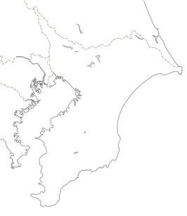 都道府県海岸線