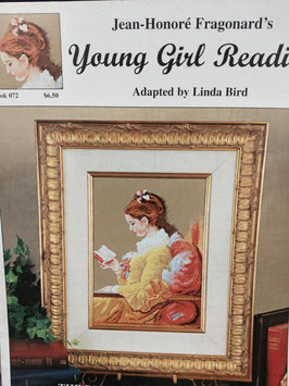 Young girl readi.