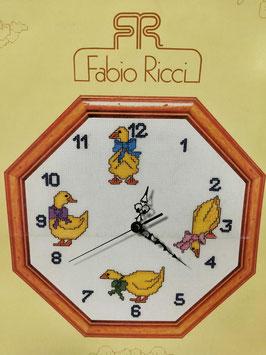 Reloj   patos.