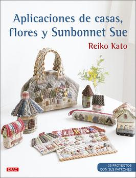 Aplicaciones de casas flores y Sunbonnet sue.