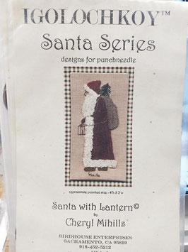 Kit punchneddle- Santa 1.