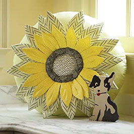 SUNFLOWER PILLOW.