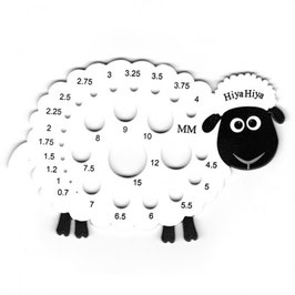 Medidor de agujas oveja.