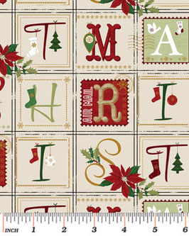 Letras Christmas.