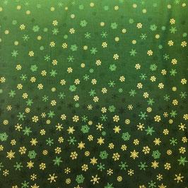 Copo de nieve -verde 2248