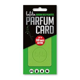 "Lafita Parfüm Card ""Jardin des Plantes"""