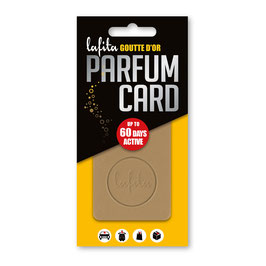 """Lafita Parfüm Card """"Goutte d'Or"""""""