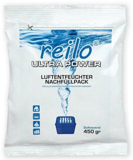 450g Ultra Power Luftentfeuchter Granulat (Calciumchlorid) für Raumentfeuchter, im Vliesbeutel - zum attraktiven Staffelpreis