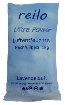 """1kg """"Lavendelduft"""" Luftentfeuchter-Granulat im Vliesbeutel, einzeln verpackt im Polybeutel"""