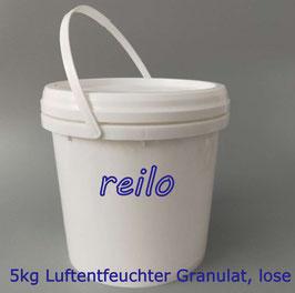 5kg Luftentfeuchter Granulat Flakes lose im 5L Eimer, für Raumentfeuchter