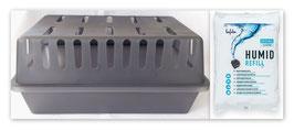 XXL Luftentfeuchter Box mit 1,2kg Lafita Luftentfeuchter Granulat (Calciumchlorid) im Vliesbeutel