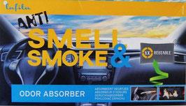 Lafita Anti Smell & Smoke - Lufterfrischer - Geruchs Absorber 400g