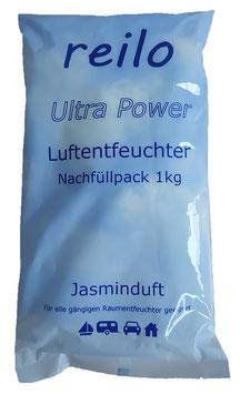 """1kg """"Jasminduft"""" Luftentfeuchter-Granulat im Vliesbeutel, einzeln verpackt im Polybeutel"""