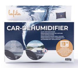 Lafita Auto-Entfeuchter 400g mit Feuchtigkeits-Indikator - wiederverwendbar -