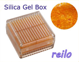 Silica Gel Luft-Entfeuchter Box, mit Indikator - wiederverwendbar -